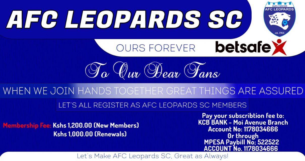 AFC Leopards membership