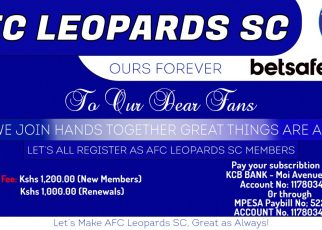 AFC Leopards membership